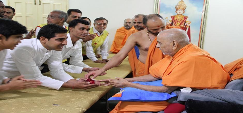 His Divine Holiness Pramukh Swami Maharaj